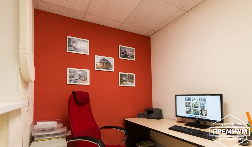 Ремонт и дизайн интерьера офиса по ул. Шаумяна 93 2