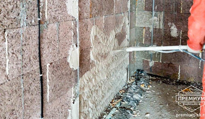 Механизированная штукатурка стен в коттедже 250 кв.м., п. Кашино 27