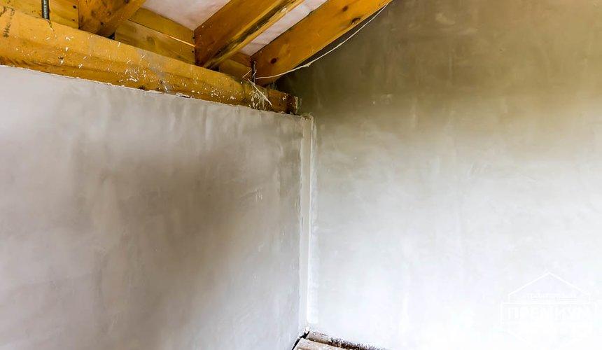 Механизированная штукатурка стен в коттедже 250 кв.м., п. Кашино 2