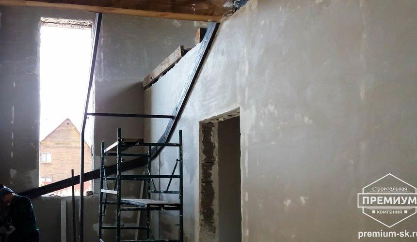 Механизированная штукатурка стен в коттедже 250 кв.м., п. Кашино 8