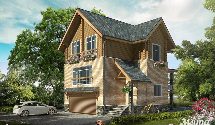 Индивидуальный проект дома 200м2 в КП Палникс 1