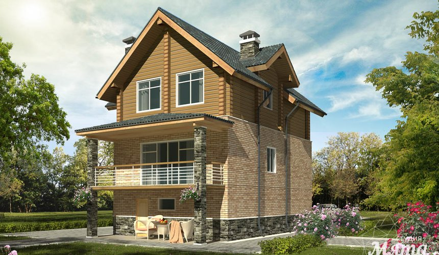 Индивидуальный проект дома 200м2 в КП Палникс 3