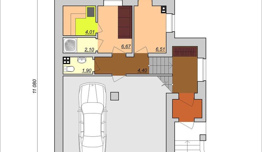 Индивидуальный проект дома 200м2 в КП Палникс 6