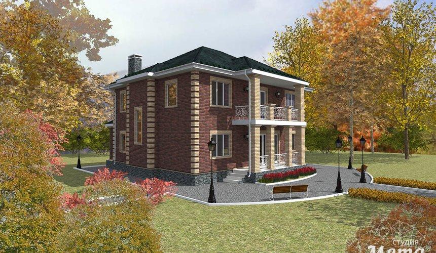 Индивидуальный проект двухэтажного дома 210 м2 в Сочи 2