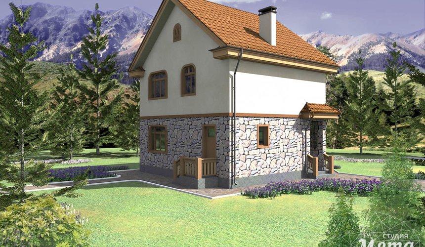 Индивидуальный проект частного дома 100 м2 в Щелкун 3