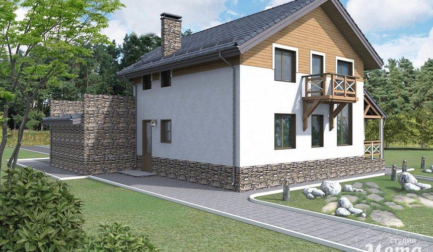 Индивидуальный проект дома 220 м2 в КП Образцово 2