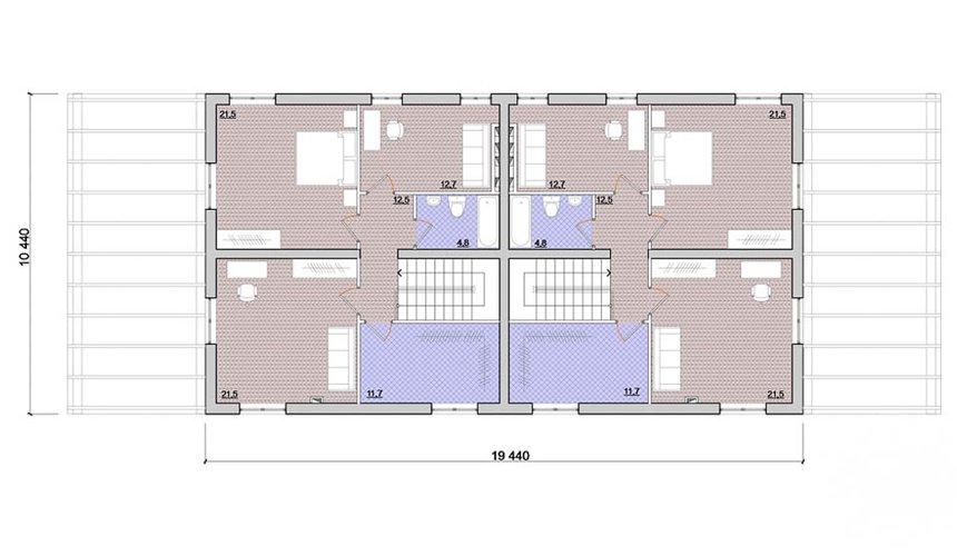 Индивидуальный проект коттеджа 335 м2 в КП Лукоморье 4