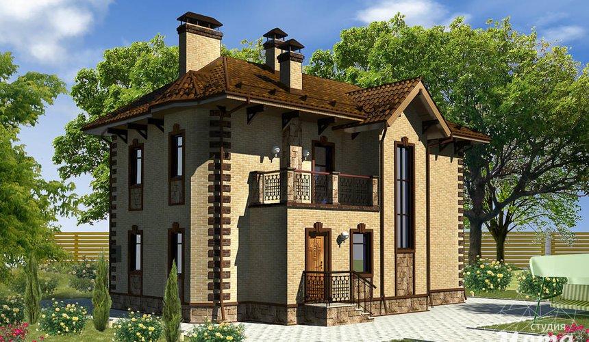 Индивидуальный проект дома 160 м2 в КП Александрия 2
