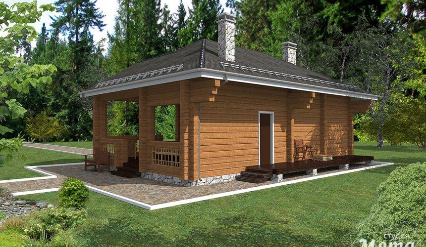 Индивидуальный проект дома 65 м2 в КП Дубрава 3