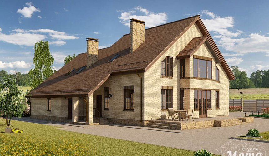 Индивидуальный проект дома 330 м2 в КП Косулино 2