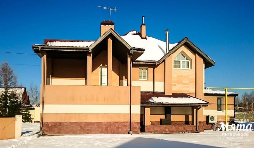 Индивидуальный проект дома 215 м2 в п. Санаторный 17