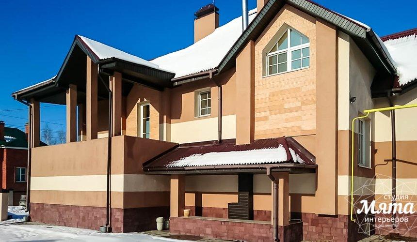 Индивидуальный проект дома 215 м2 в п. Санаторный 19