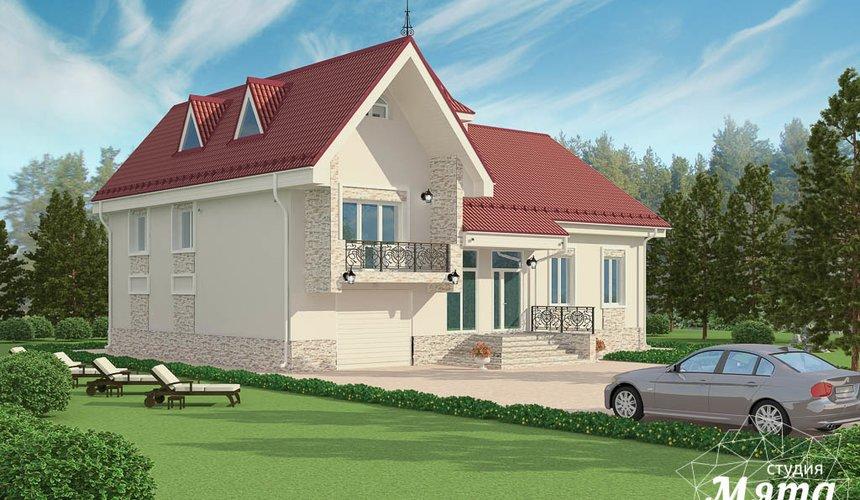 Индивидуальный проект коттеджа 195 м2 в г. Екатеринбург 1
