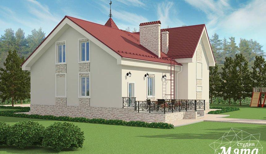 Индивидуальный проект коттеджа 195 м2 в г. Екатеринбург 3