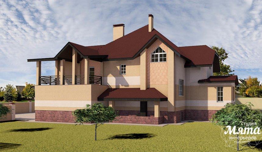 Индивидуальный проект дома 215 м2 в п. Санаторный 3