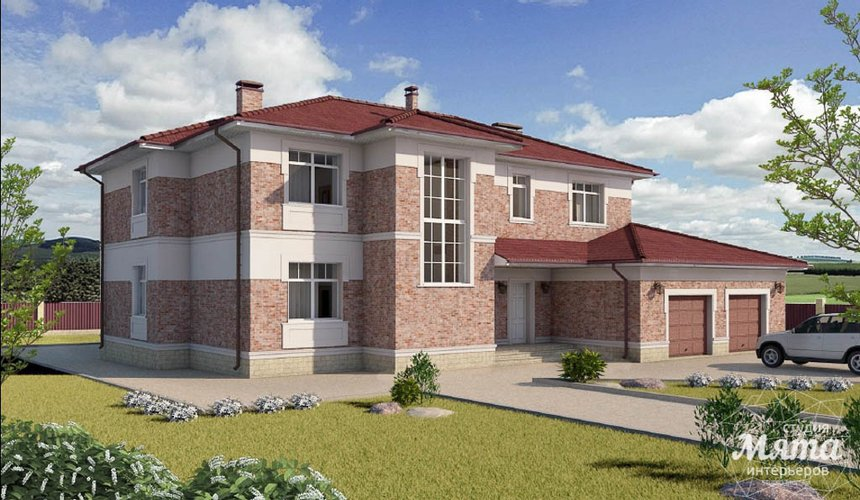 Индивидуальный проект дома 379 м2 в п. Мельница 3