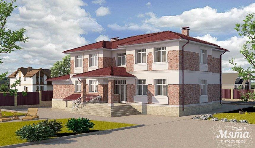 Индивидуальный проект дома 379 м2 в п. Мельница 5