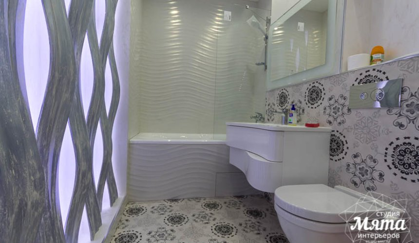 Ремонт и дизайн интерьера трехкомнатной квартиры по ул. Татищева 49 61