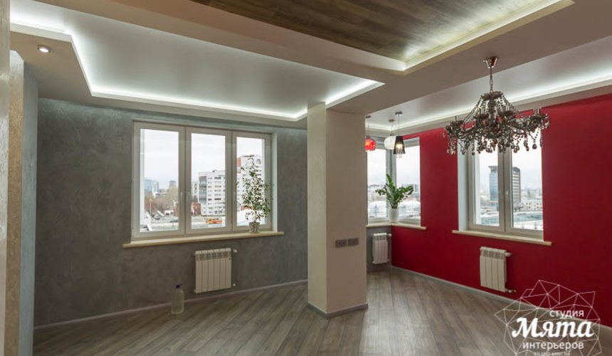 Ремонт и дизайн интерьера трехкомнатной квартиры по ул. Татищева 49 23