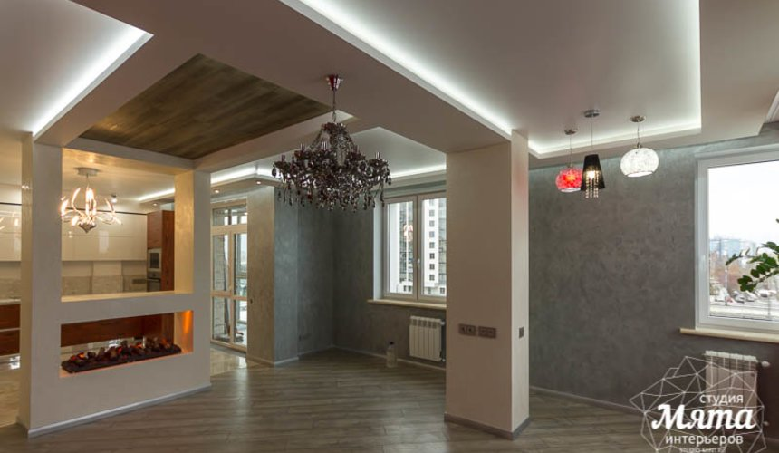 Ремонт и дизайн интерьера трехкомнатной квартиры по ул. Татищева 49 25