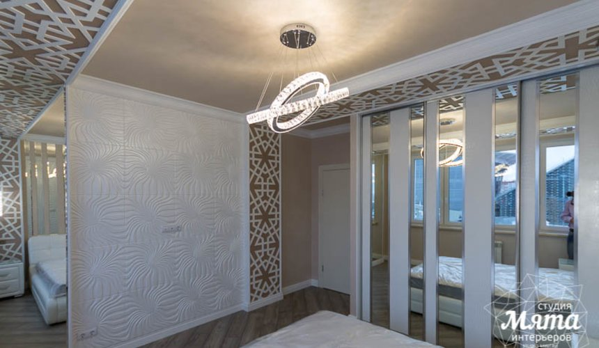 Ремонт и дизайн интерьера трехкомнатной квартиры по ул. Татищева 49 42