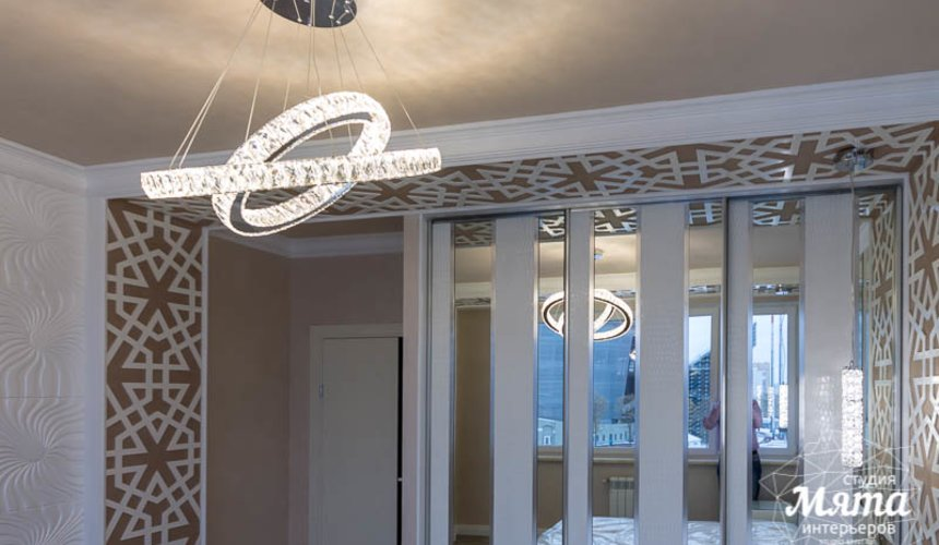 Ремонт и дизайн интерьера трехкомнатной квартиры по ул. Татищева 49 43