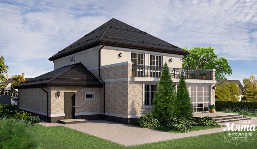 Индивидуальный проект дома 200 м2 г. Тюмень 10
