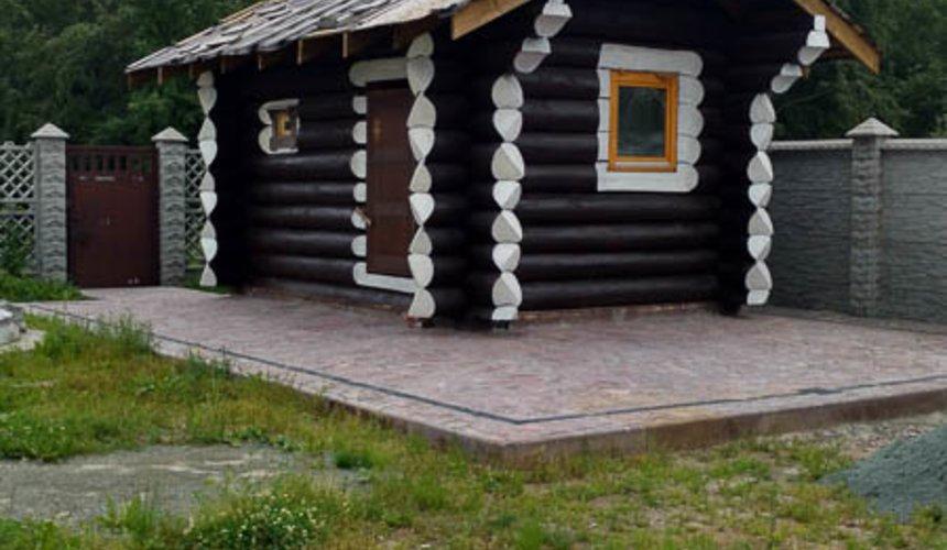 Строительство гаража и беседки г. Пермь 8