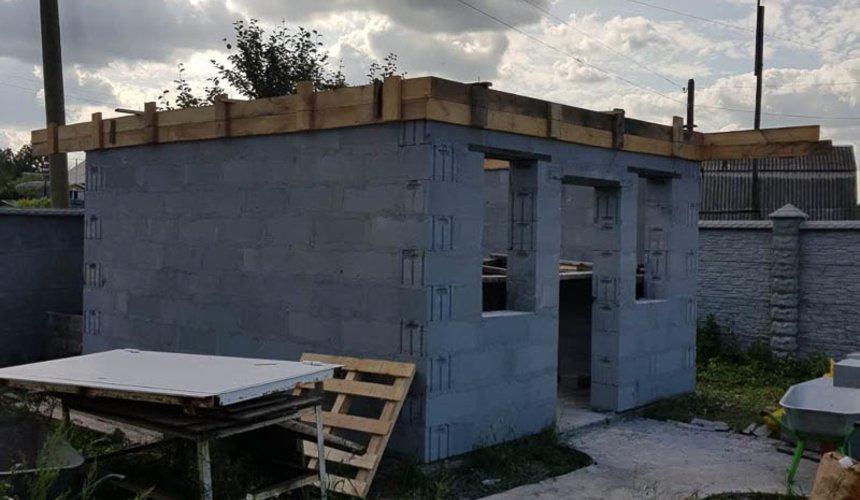 Строительство гаража и беседки г. Пермь 42