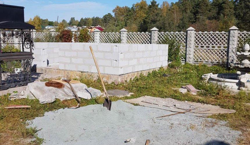 Строительство гаража и беседки г. Пермь 11