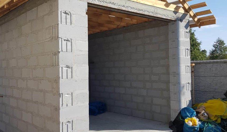 Строительство гаража и беседки г. Пермь 33