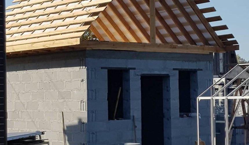 Строительство гаража и беседки г. Пермь 43