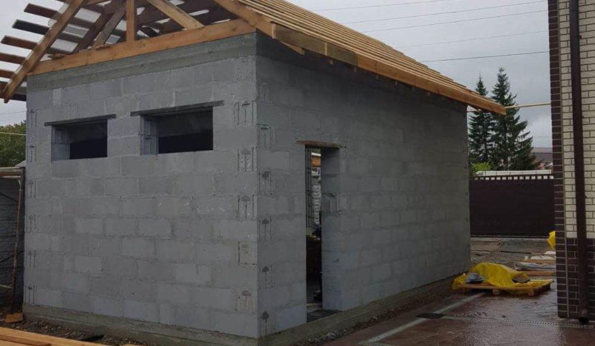 Строительство гаража и беседки в г. Асбест 50