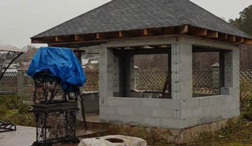 Строительство гаража и беседки в г. Асбест 28