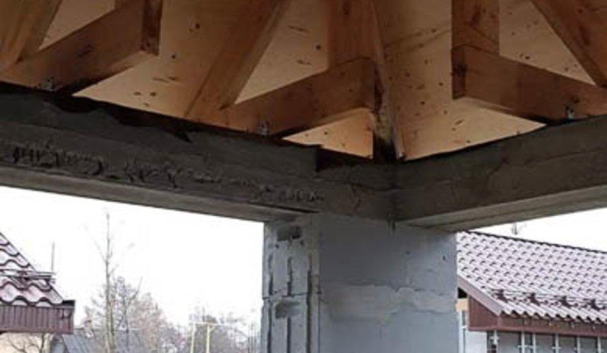 Строительство гаража и беседки г. Пермь 15