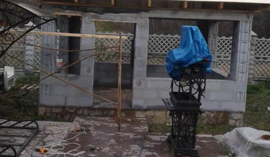 Строительство гаража и беседки г. Пермь 16