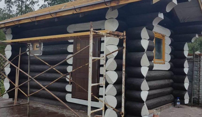 Строительство гаража и беседки г. Пермь 10