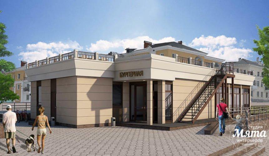 Индивидуальный проект кафе 180 м2 на набережной г. Краснотурьинск 1