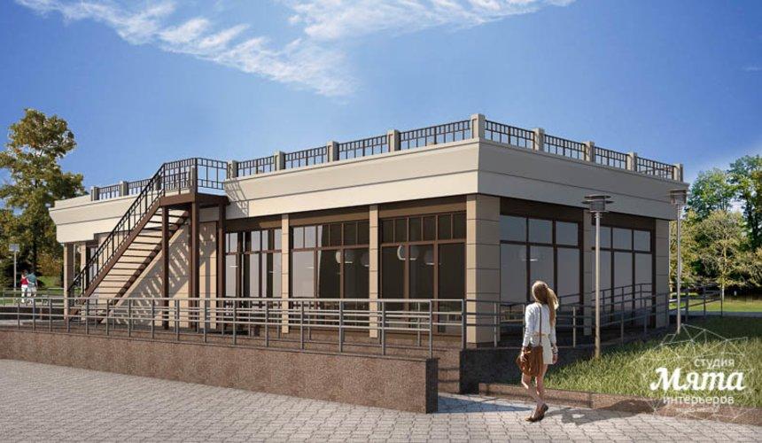 Индивидуальный проект кафе 180 м2 на набережной г. Краснотурьинск 2