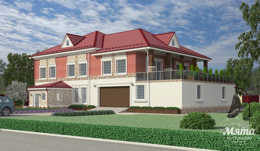 Индивидуальный проект дома 532 м2 и бани 152 м2 г. Арамиль 1