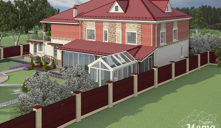 Индивидуальный проект дома 532 м2 и бани 152 м2 г. Арамиль 3
