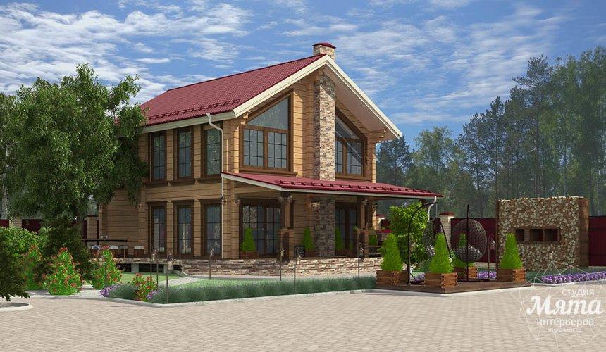Индивидуальный проект дома 532 м2 и бани 152 м2 г. Арамиль 4