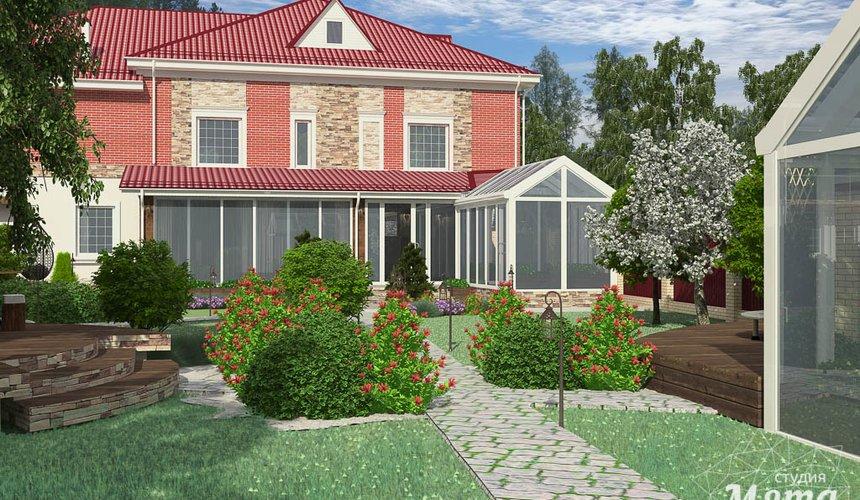 Индивидуальный проект дома 532 м2 и бани 152 м2 г. Арамиль 10