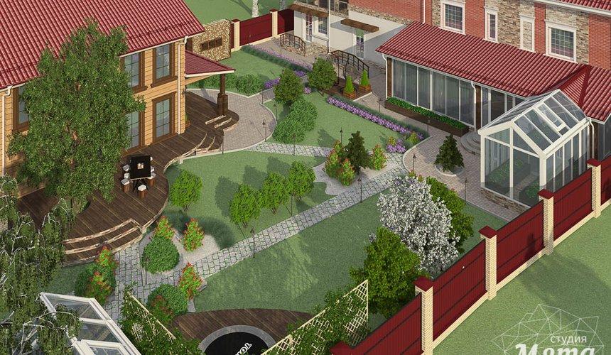 Индивидуальный проект дома 532 м2 и бани 152 м2 г. Арамиль 11