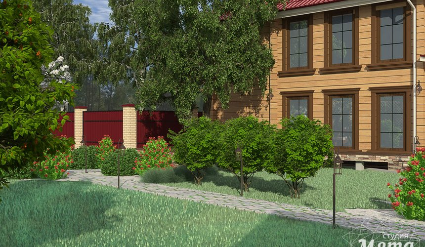 Индивидуальный проект дома 532 м2 и бани 152 м2 г. Арамиль 12