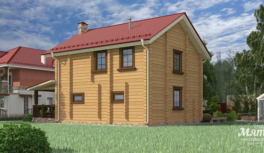 Индивидуальный проект дома 532 м2 и бани 152 м2 г. Арамиль 14