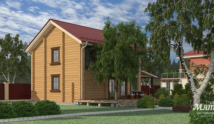 Индивидуальный проект дома 532 м2 и бани 152 м2 г. Арамиль 15