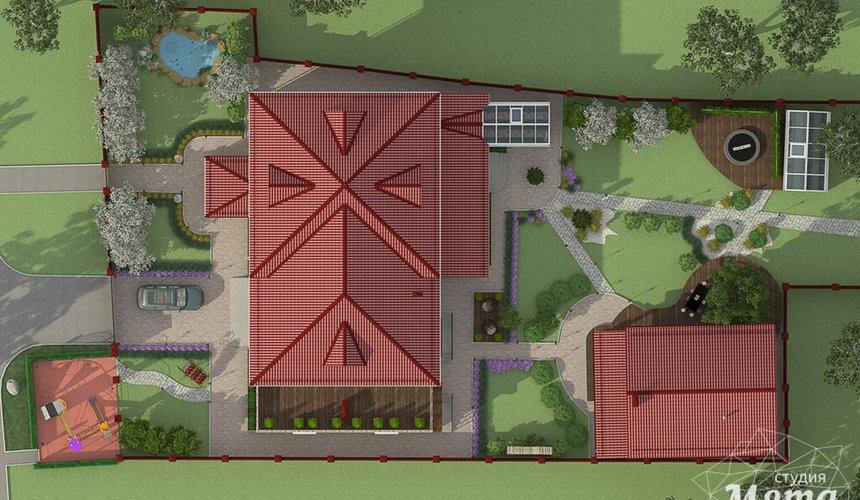 Индивидуальный проект дома 532 м2 и бани 152 м2 г. Арамиль 16
