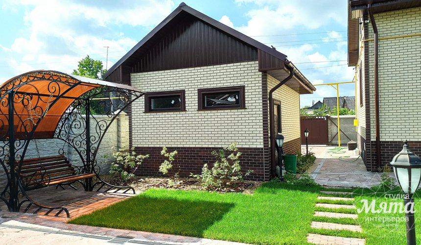 Строительство гаража и беседки г. Пермь 5